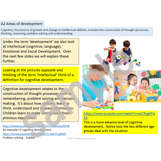 level 3 child development Details of training for the level 3 diploma in children's care, learning and development in wales.