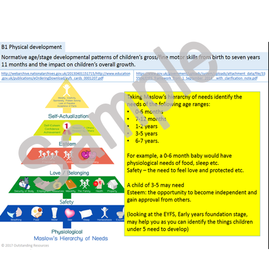 chidcare and development level 3 unit Home level 5 diploma in leadership for children's care, learning and development question: unit 139 lead practice that supports positive outcomes for child and young person development.
